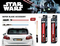 Star Wars Porch Light Covers Star Wars Darth Vader Lightsaber Rear Windshield Wiper Blade Cover