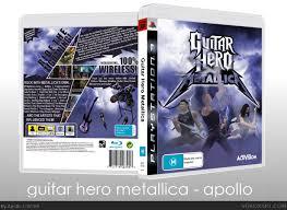 Guitar Hero Metallica Playstation 3 Box Art Cover By Apollo