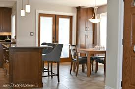 the right height to hang a dining room chandelier or pendant lights over and island or table