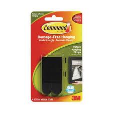 3m velcro strips. Modren Velcro Command 3 Lb Medium Black Plastic Picture Hanging Strips 4 Pairs Of  Inside 3m Velcro D