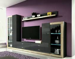 modern shelf tv stand unique bedroom bed wall units furniture brown wooden shelves stand tv