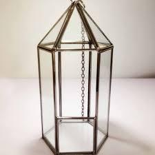 geometric glass terrarium c