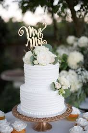60 Simple Elegant All White Wedding Color Ideas Wedding Cakes