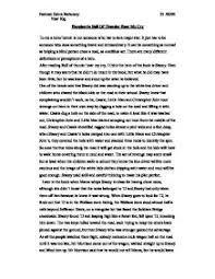 heroism in roll of thunder hear my cry gcse english marked by page 1 zoom in