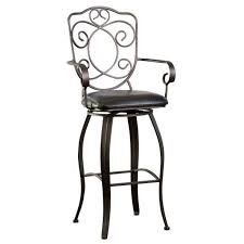 metal counter height stools. Full Size Of Chair Cooper Stained Metal Counter Stools With Back And Arm Also Black Leather Height