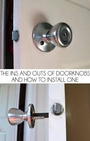 Backyards : How Change Doorknob Tos Diy Adi202 2fa Schlage Door ...