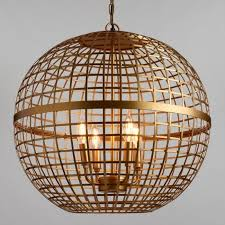 gold orb 4 light stella chandelier v1