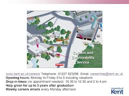 The University of Kent Careers and Employability Service        WEB