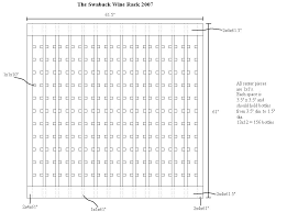 Wine Rack Plans Measurements Wine Bottle Rack Plans Glass Dimensions