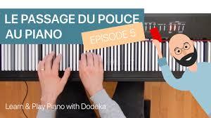 Otamatone Finger Chart Piano Finger Techniques Episode 5 Dodeka Piano Course