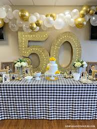Wedding Anniversary Party Ideas 50th Wedding Anniversary Party Ideas Dimples And Tangles