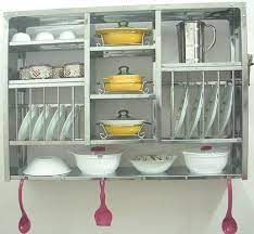 huge stainless steel wall mounted dish