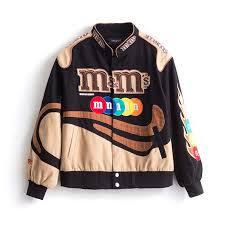 Embroidery Harajuku Patch Plus Size Coat <b>2021 Spring Autumn</b> ...