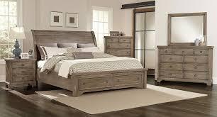 Whiskey Barrel Storage Bedroom Set (Rustic Gray)