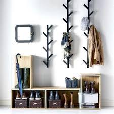 Diy Wall Mounted Coat Rack With Shelf Inspiration Diy Coat Rack Wall Wrapping Paper Coat Hanger Diy Wall Coat Rack