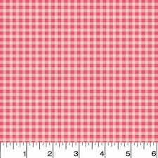 pink welcome welcome home check pink flannel fabric masf610 pp