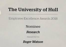 Health Research Scholarship Hull Employee Excellence Award