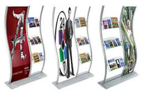 Display Stands For Leaflets Brochure Racks Flyer Holder Stands Floor Countertop 2