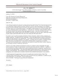 Resume Cover Letter For Teacher Position Inspiration Pe Teacher Resume Cover Letter In For Teaching Position 18