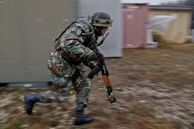 file a n ier rushes for cover during a military file a n ier rushes for cover during a military adviser team mat and police adviser team pat training exercise at the hohenfels training