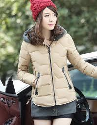 <b>Women's Slim</b> Fit <b>Winter</b> Coat Short Jacket with Removable Hem ...