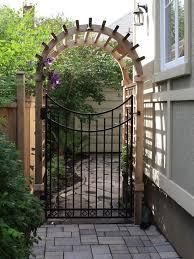 Best 25 Outdoor Gates Ideas On Pinterest  Yard Gates Fencing Gates For Backyard