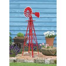 4ft ornamental garden windmill amp