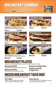 taco cabana breakfast bos