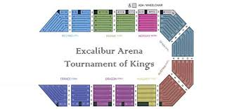 Excalibur Seating Chart Tournament Of Kings At Excalibur Johns 21st Bday Bash