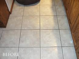 paint ceramic tile floor kitchen floor tile paint bunnings painted concrete with fake cerami on beautiful