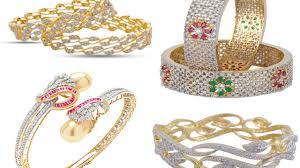 Diamond Bangles Designs Images Diamond Bangle Designs 20 Latest Collection To Look More