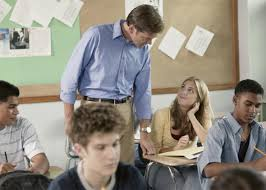 Student to teacher sexual harassment