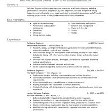 Cover Letter Format For Software Developer Best Engineer Resume