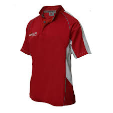 rugby shirt style a redwhitegrey front