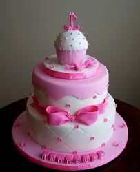 Birthday Cake Ideas For 1 Year Old Baby Girl Ba Girl Birthday Cake