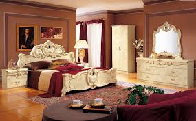 italian bed set furniture. Barocco Ivory Classic Italian Bedroom Set Bed Furniture
