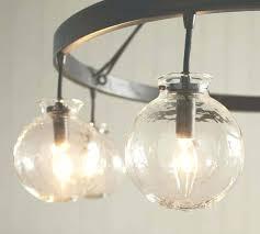 glass globe chandelier glass globe chandelier replacement