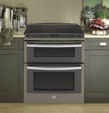 white electric range. Double Oven Electric Range. White Image Ge Series Front Control In Range