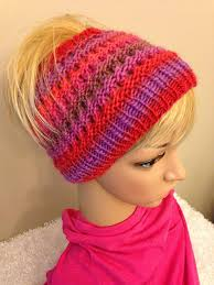 Ponytail Hat Knitting Pattern Simple Knit Ponytail Hat Patterns