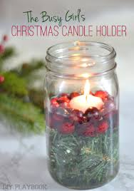 Ideas For Decorating Mason Jars For Christmas How to Create a Christmas Candle Holder from a Mason Jar 93