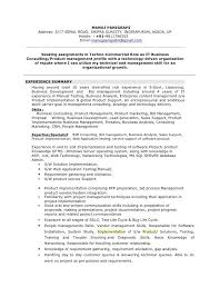 Sample Telecommunications Consultant Resume Bpm Consultant Sample Resume Bpm Consultant Cover Letter