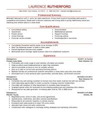 Best Automotive Salesperson Resume Example Livecareer