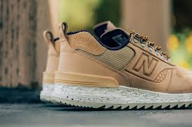 new balance all terrain. new balance gives their all-terrain trailbuster ($130) a re-engineered treatment as part of latest delivery. constructed from premium nubuck-leather all terrain f