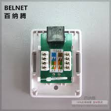 rj45 junction box cat5e network connector single port desktop box 1 port extension cable jb ethernet box not required bottom box in computer cables