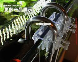 lily glass pipe holder fix inflow outflow 13mm 17mm arcylic aquarium water plant fish tank landscape