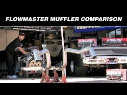 Flowmaster Muffler Comparison Youtube