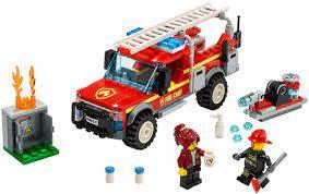 Đồ Chơi Xếp Hình LEGO Xe Cứu Hỏa Cơ Động 60231 - Lắp ghép, Xếp hình