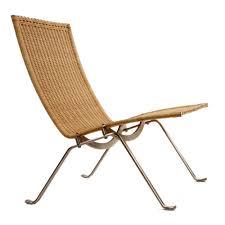 Poul Kjaerholm Pk22 Lounge Chair Rattan Replica Commercial Furniture