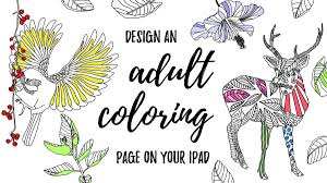 Print and color winter pdf coloring books from primarygames. Design An Adult Coloring Book Page On Your Ipad In Procreate Free Coloring Pages Practice Sheets Liz Kohler Brown Skillshare