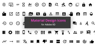 1000 Free Material Icons for Adobe XD - XDGuru